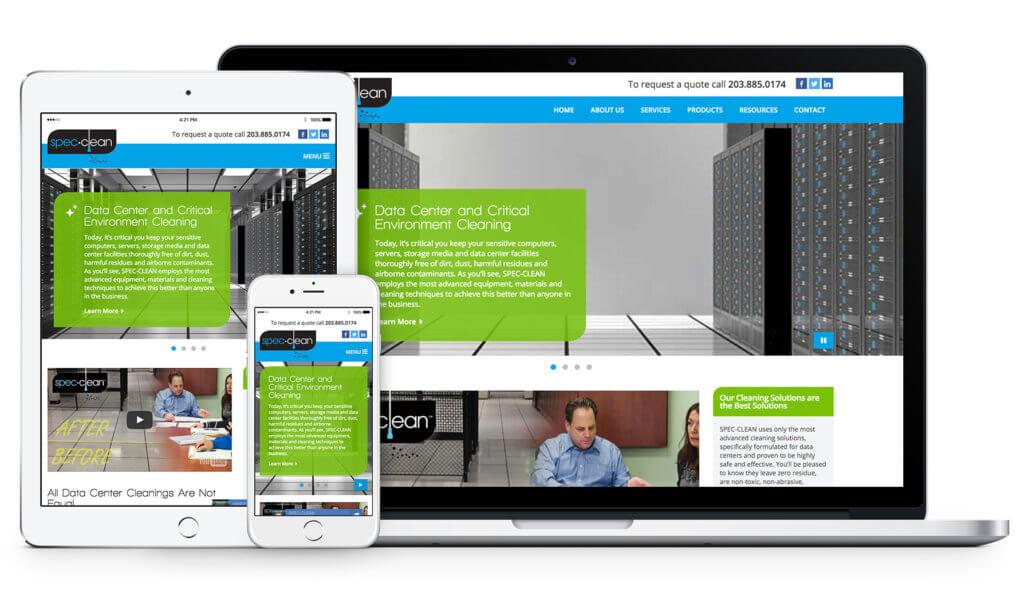 Spec Clean Responsive Web Design