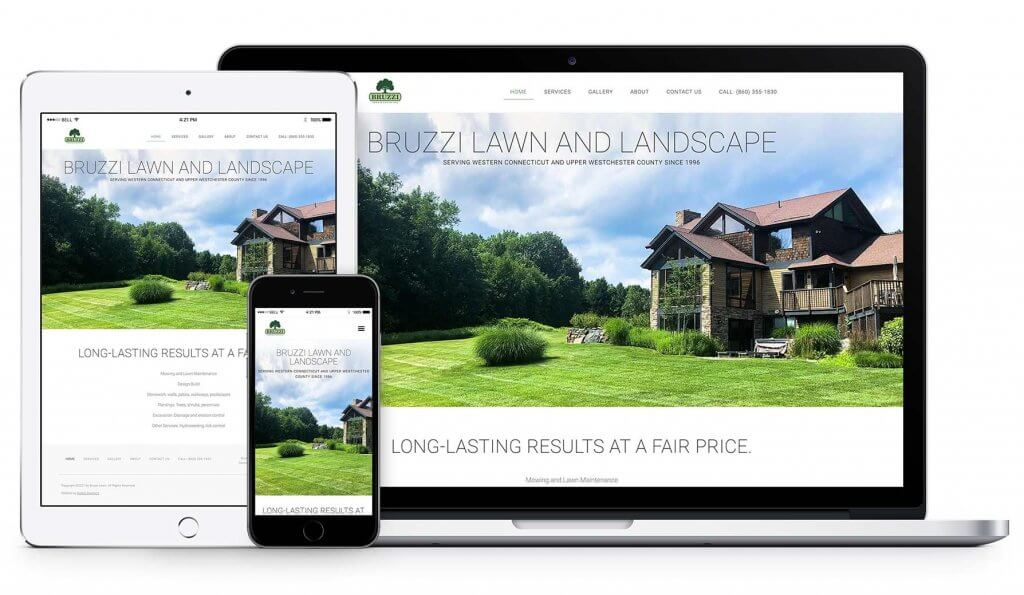 Bruzzi Lawn website