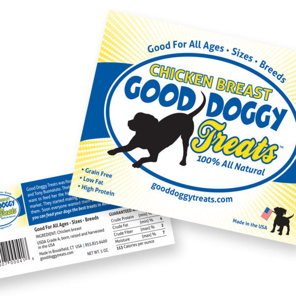 Good Doggy Treat Labels