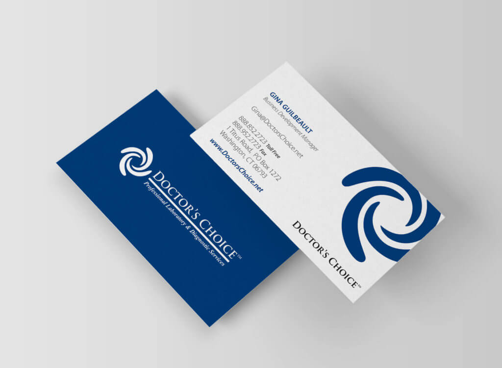 Doctor's Choice Business Card