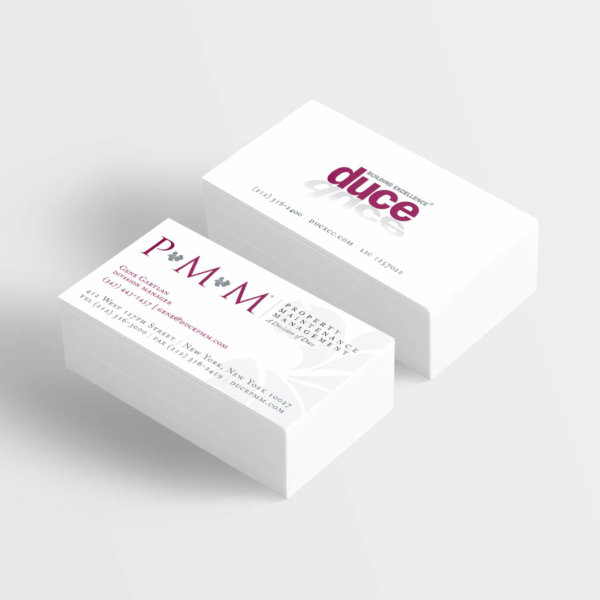 Duce Business Card