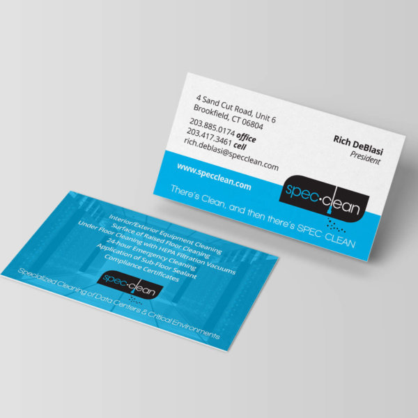 Spec Clean Business Card