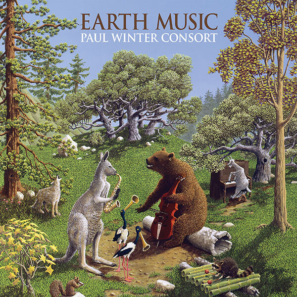 Living Music Earth Music CD cover Thumb