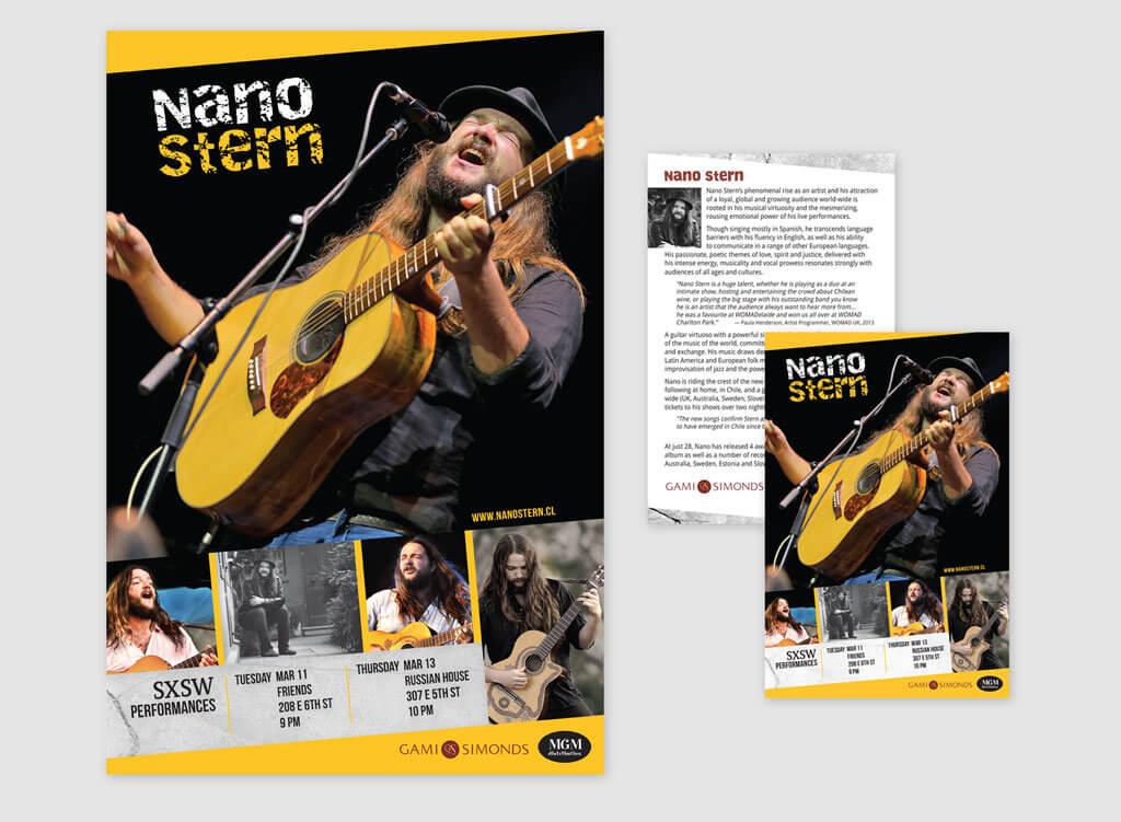 Nano Stern Poster & Postcard